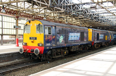 3) 20 301 at Crewe on 1st May 2013