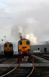 1) 20 301 at Crewe Gresty Bridge DRS Depot on 10th December 2011