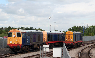 20 903 & 20 904 at Carlisle Kingmoor DRS Depot on 11th June 2005