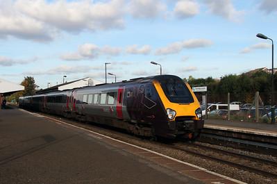 2) 221 137 at Stourbridge Junction on 2nd November 2016
