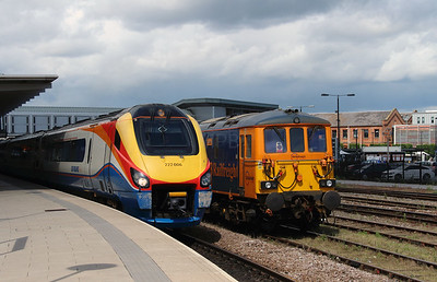 222006 & 73961 at Derby on 2nd July 2016