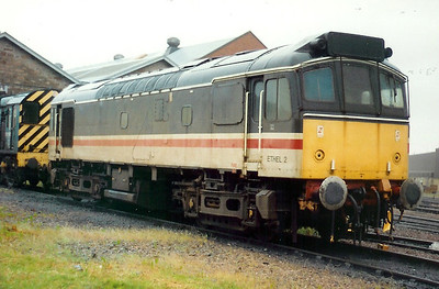 97 251 at Inverness Depot on 25th June 1991