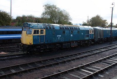 27066 at Barrow Hill on 23rd October 2016
