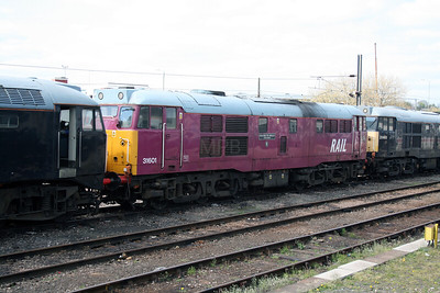 31 601 at Derby RTC on 18th April 2007 (1)