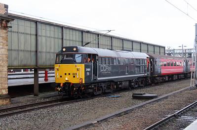 2) 31 601 at Crewe on 26th November 2015