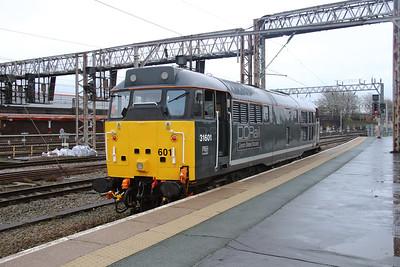6) 31 601 at Crewe on 26th November 2015