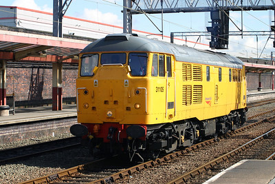 31 105 at Crewe on 27th April 2005 (1)
