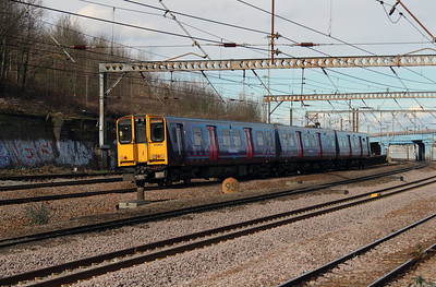 313 051 at Harringay on 3rd March 2015 (1)