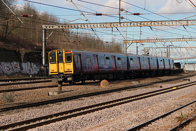 313 026 at Harringay on 3rd March 2015 (2)
