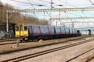313 062 at Harringay on 3rd March 2015 (1)