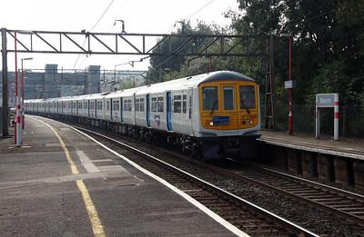 319 219 at Runcorn on 21st September 2016