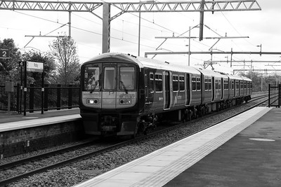 319 367 at Roby on 19th May 2015
