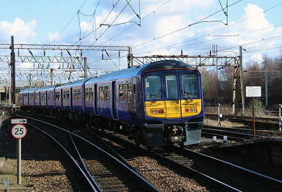 319 361 at Edge Hill on 18th February 2016