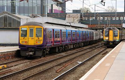 319457 at Northampton on 18th April 2016