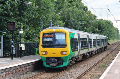 2) 323 216 at Erdington on 2nd July 2016