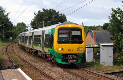 1) 323 216 at Erdington on 2nd July 2016