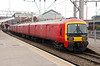 325 001 at Crewe on 30th November 2016