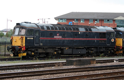 1) 33 103 at Derby on 4th August 2006