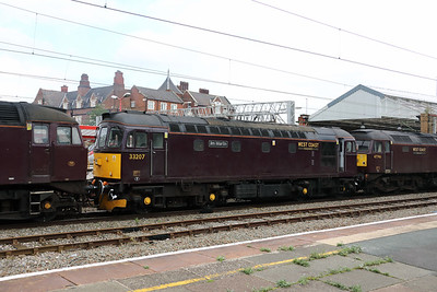 33 207 at Crewe on 25th September 2019 (6)