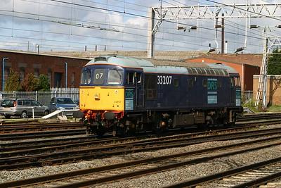 33 207 at Stafford on 27th April 2005