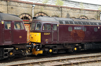 33 207 at Crewe on 25th September 2019 (5)