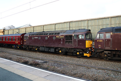 33 207 at Crewe on 24th October  2019