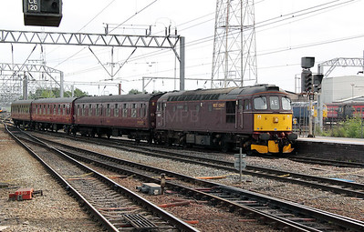 2) 33 207 at Crewe on 18th May 2011 working 5Z33 0950 Southall to Carnforth