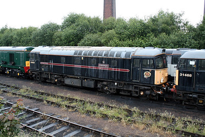 1) 33 021 at Barrow Hill Museum on 30th June 2007