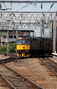 1) 33 029 at Crewe on 31st May 2013 working 5Z42 1123 Carnforth Steamtown to Southall
