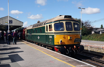 3) D6515 (33012) at Wareham on 31st August 2017