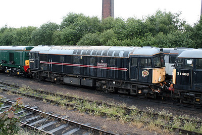33 021 at Barrow Hill Museum on 30th June 2007
