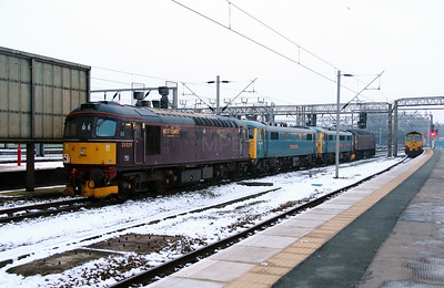 1) 33 029 at Crewe on 24th January 2013 working 0Z86