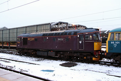 3) 33 029 at Crewe on 24th January 2013 working 0Z86
