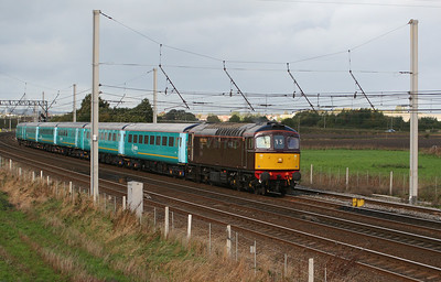 2) 33 029 at Winwick Junction on 26th October 2006