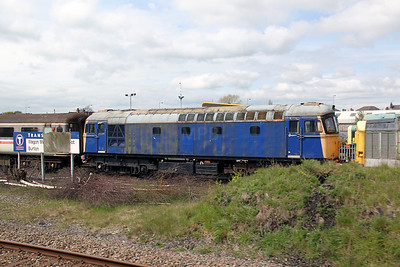 33 046 at Burton on Trent on 28th April 2012
