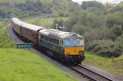1) D6515 (33012) at Norden on 31st August 2017