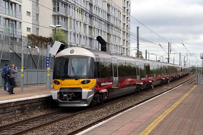 332 014 at Hayes & Harlington on 5th April 2014