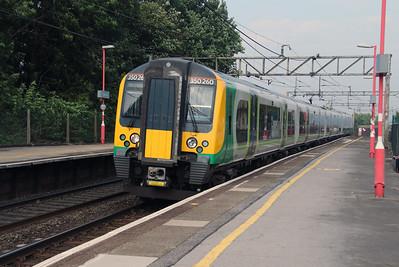 350 260 at Runcorn on 21st September 2016