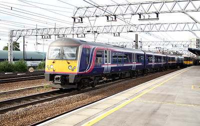 360 105 at Stratford on 11th June 2004