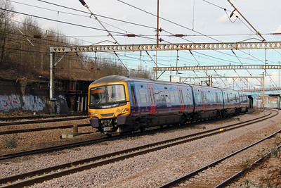 365 502 at Harringay on 3rd March 2015 (1)