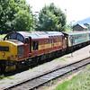 37 408 at Rhymney on 9th July 2005 (1)