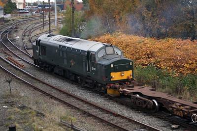 37 411 at Warrington Arpley on 2nd November 2007 (10)