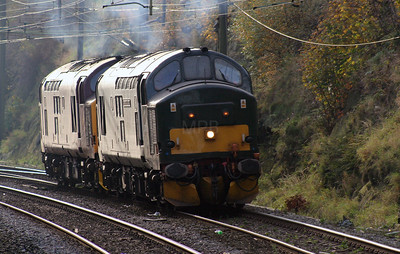 37 411 at Runcorn on 2nd November 2007 (5)