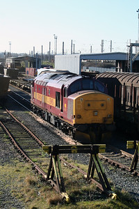 37 410 at Warrington Arpley on 2nd March 2007