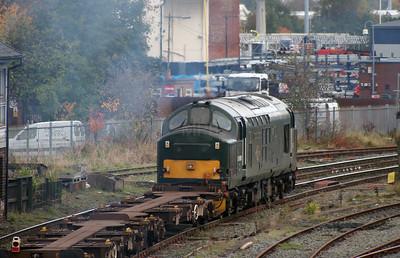 37 411 at Warrington Arpley on 2nd November 2007 (12)