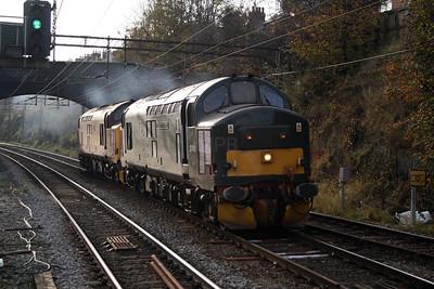 37 411 at Runcorn on 2nd November 2007 (4)