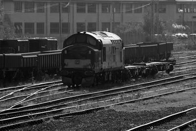 37 411 at Warrington Arpley on 2nd November 2007 (2)