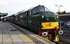 37 411 at Cardiff Central on 26th November 2005, 2F26 1215 Rhymney-Cardiff Central (1)