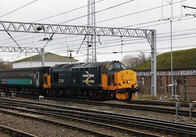 3) 37 401 at Carlisle on 22nd January 2018