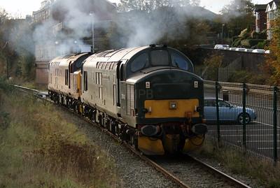 37 411 at Runcorn on 2nd November 2007 (3)